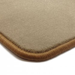 Alfombrillas Velour Beige Mitsubishi L200 Cabina Simple 2006-201